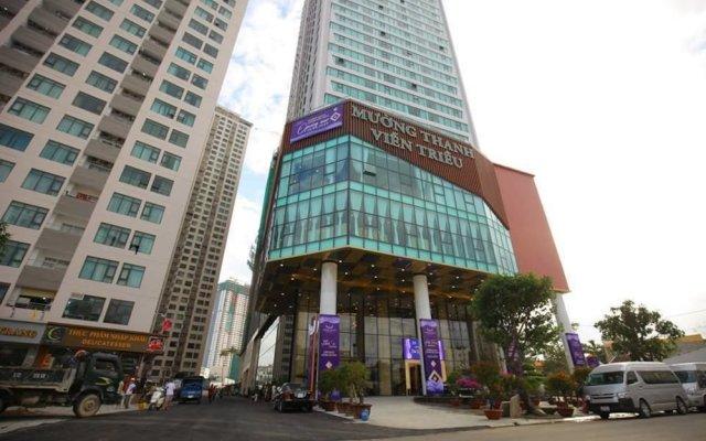Muong Thanh Luxury Vien Trieu Hotel Нячанг вид на фасад