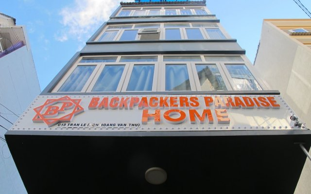 Отель Backpacker Paradise Далат вид на фасад