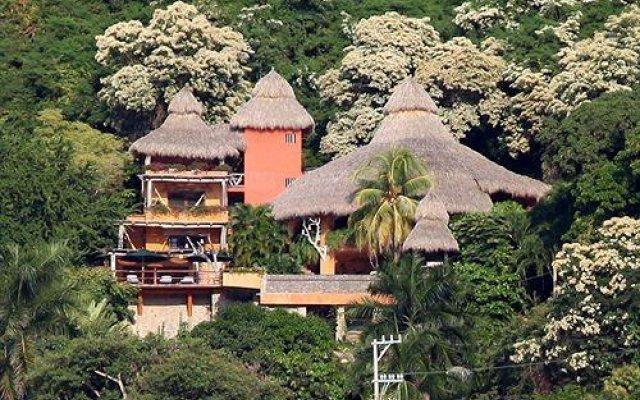 Отель Casa Cuitlateca Мексика, Сиуатанехо - отзывы, цены и фото номеров - забронировать отель Casa Cuitlateca онлайн вид на фасад