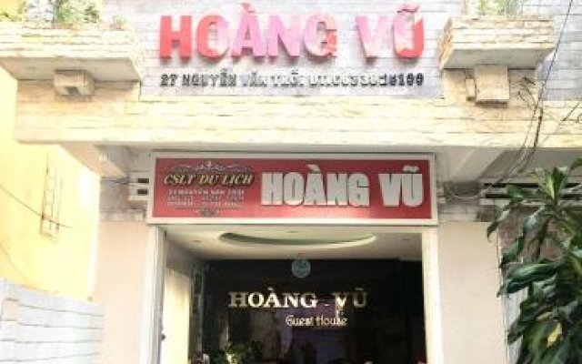 Отель Hoang Vu Guest House Далат вид на фасад