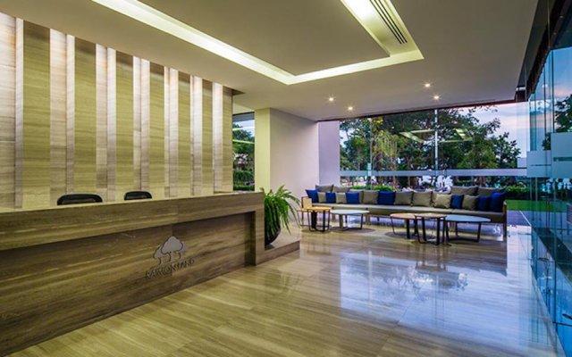 Отель Zire Wongamat Condo Pattaya By AJ Паттайя балкон