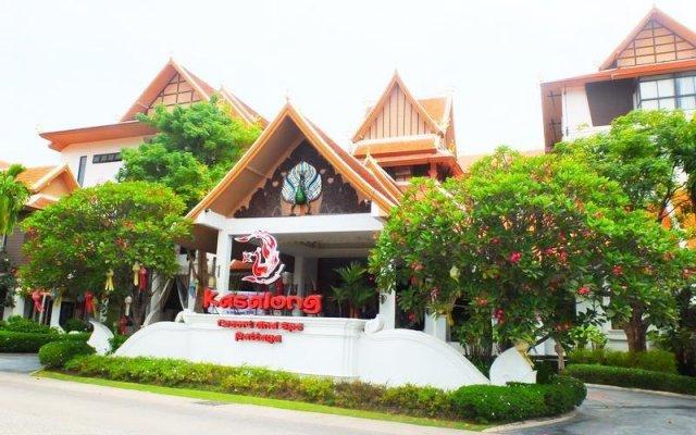 Отель kasalong resort вид на фасад