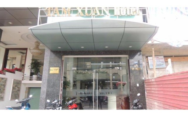 Отель Tam Xuan Далат вид на фасад