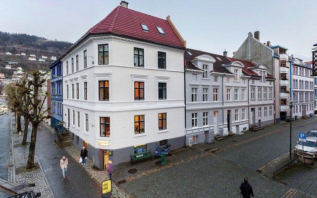 Отель Nordic Host - Daniel Hansens gate 2 Норвегия, Берген - отзывы, цены и фото номеров - забронировать отель Nordic Host - Daniel Hansens gate 2 онлайн вид на фасад