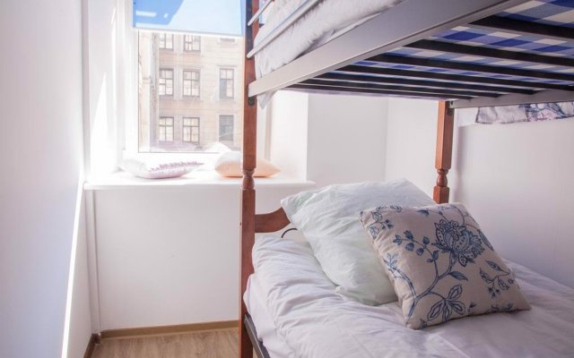 Laika Hostel комната для гостей