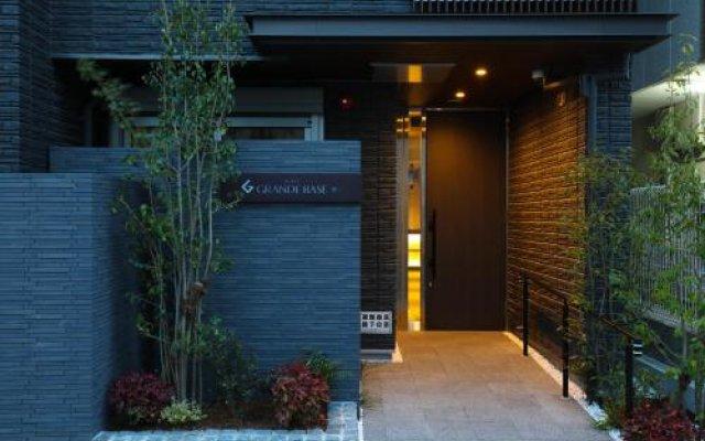 Отель Grand Base Hakata Фукуока вид на фасад
