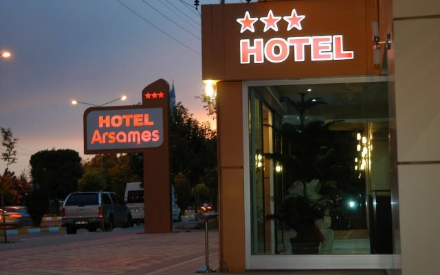 Arsames Hotel вид на фасад
