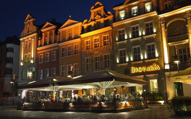Отель Brovaria Польша, Познань - отзывы, цены и фото номеров - забронировать отель Brovaria онлайн вид на фасад