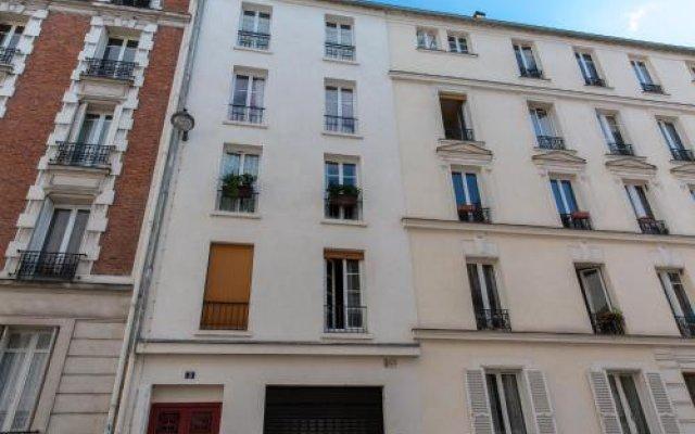 Апартаменты Montmartre Apartments Picasso Париж вид на фасад