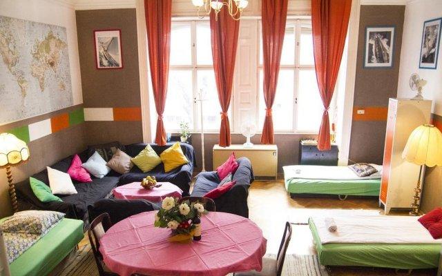 Hostel Budapest Center комната для гостей