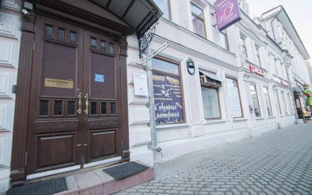 Отель Navigator Казань вид на фасад