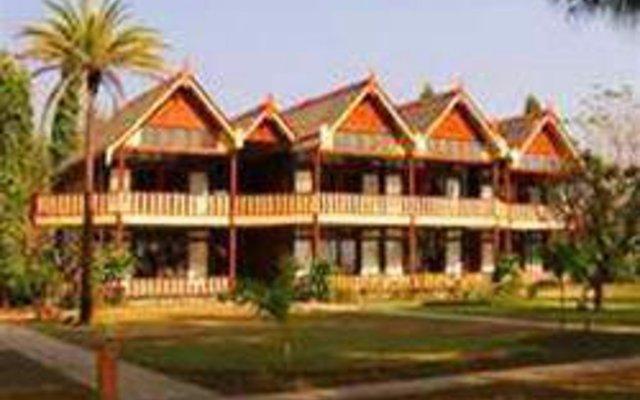 Ngapali Beach Hotel вид на фасад