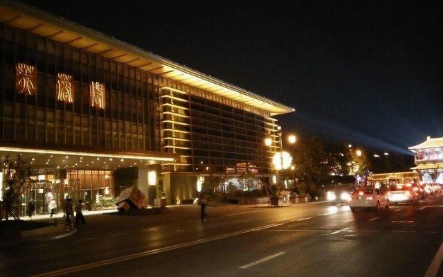 Отель Fu Rong Ge Hotel Китай, Сиань - отзывы, цены и фото номеров - забронировать отель Fu Rong Ge Hotel онлайн вид на фасад