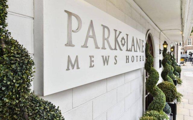 Отель Park Lane Mews Лондон вид на фасад