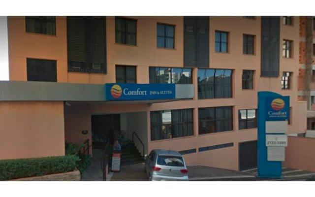 Отель Comfort Inn & Suites Ribeirão Preto Бразилия, Рибейран-Прету - отзывы, цены и фото номеров - забронировать отель Comfort Inn & Suites Ribeirão Preto онлайн вид на фасад