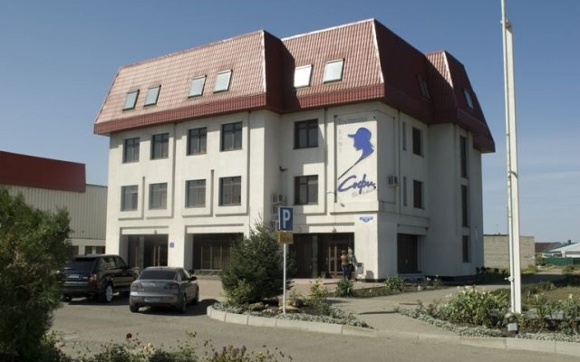 Гостиница Софи де Люкс вид на фасад