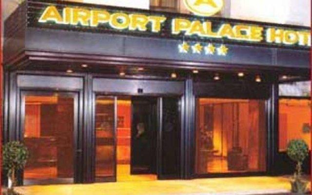 Отель Airport Palace Hotel Италия, Лидо-ди-Остия - отзывы, цены и фото номеров - забронировать отель Airport Palace Hotel онлайн вид на фасад