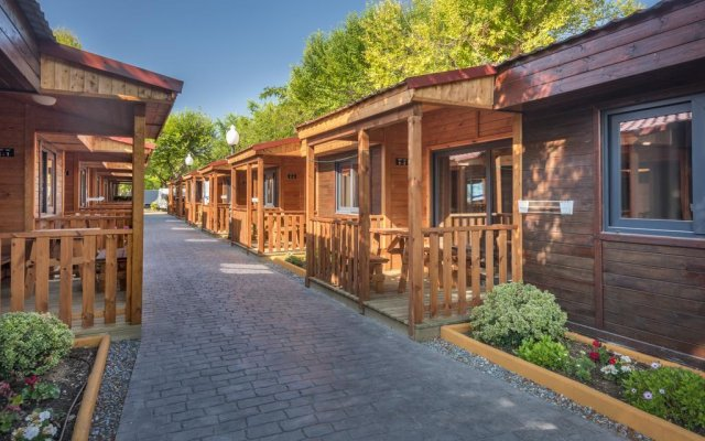 Отель Camping Solmar Испания, Бланес - отзывы, цены и фото номеров - забронировать отель Camping Solmar онлайн вид на фасад
