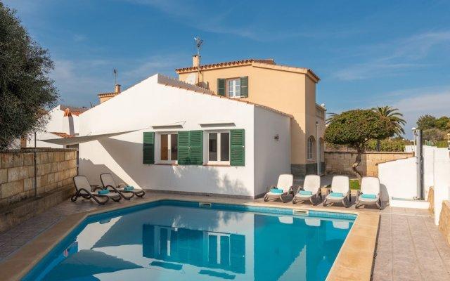 Отель Villa Caryana Испания, Кала-эн-Бланес - отзывы, цены и фото номеров - забронировать отель Villa Caryana онлайн вид на фасад