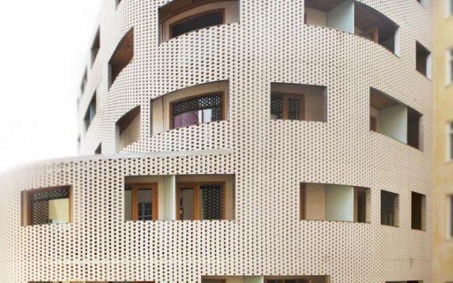Отель Scandic Paasi вид на фасад