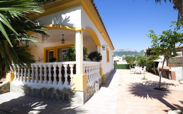 Отель Villa Paniagua вид на фасад