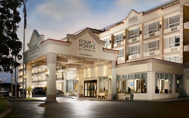 Отель Four Points by Sheraton Toronto Lakeshore Канада, Торонто - отзывы, цены и фото номеров - забронировать отель Four Points by Sheraton Toronto Lakeshore онлайн вид на фасад