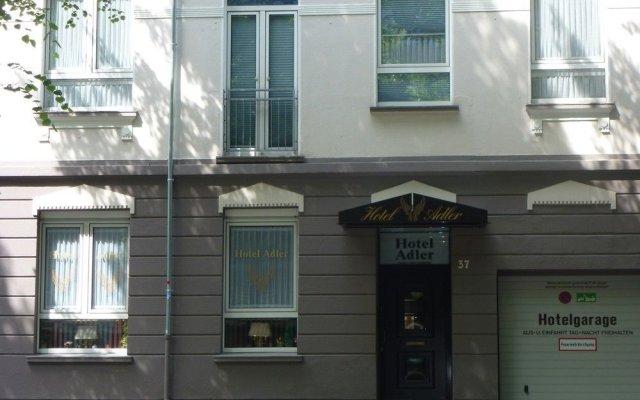 Hotel Adler вид на фасад