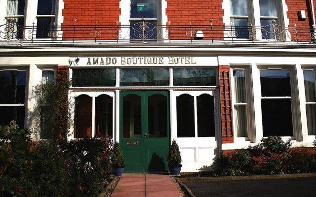 Amado Boutique Hotel вид на фасад