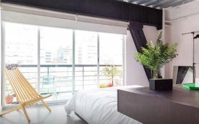 Отель Trendy Suite With Terrace in Polanco Мехико комната для гостей