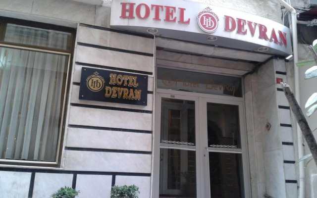 Hotel Devran вид на фасад