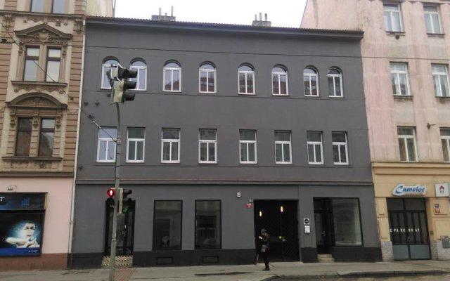 Отель Visitinn вид на фасад