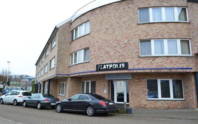 Отель Flatpolis Brussels Airport вид на фасад