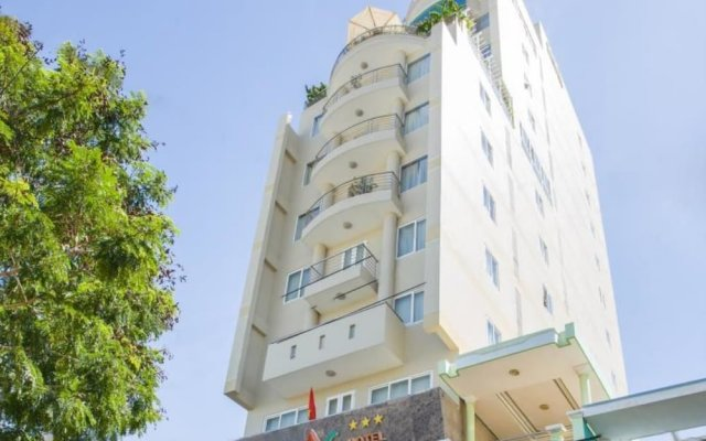 Copac Hotel Нячанг вид на фасад