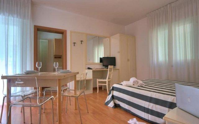 Отель Residence Divina Италия, Римини - отзывы, цены и фото номеров - забронировать отель Residence Divina онлайн комната для гостей