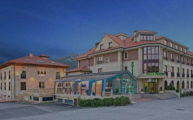 Отель Villa Pasiega Испания, Лианьо - отзывы, цены и фото номеров - забронировать отель Villa Pasiega онлайн вид на фасад