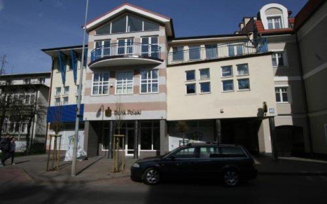 Отель Millton Villa Platinum Сопот вид на фасад