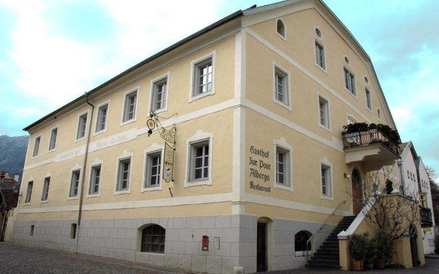 Hotel zur Post Горнолыжный курорт Ортлер вид на фасад