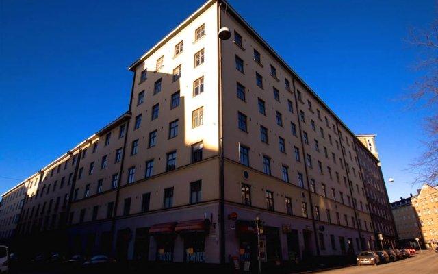 Отель 2ndhomes Eerikinkatu вид на фасад