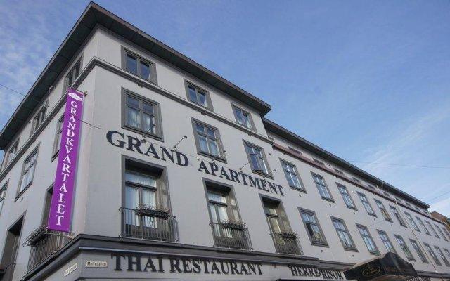 Апартаменты Grand Apartment вид на фасад