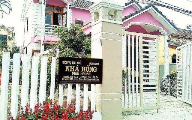 Отель Pink House Homestay вид на фасад