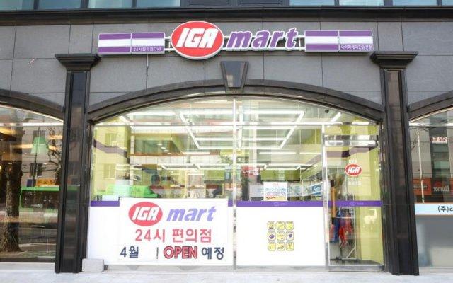 Отель Richen County Hotel Южная Корея, Сеул - отзывы, цены и фото номеров - забронировать отель Richen County Hotel онлайн вид на фасад