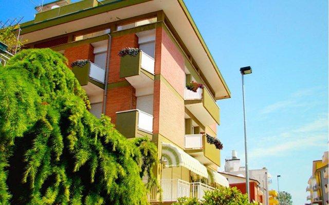 Hotel Sonne Римини вид на фасад