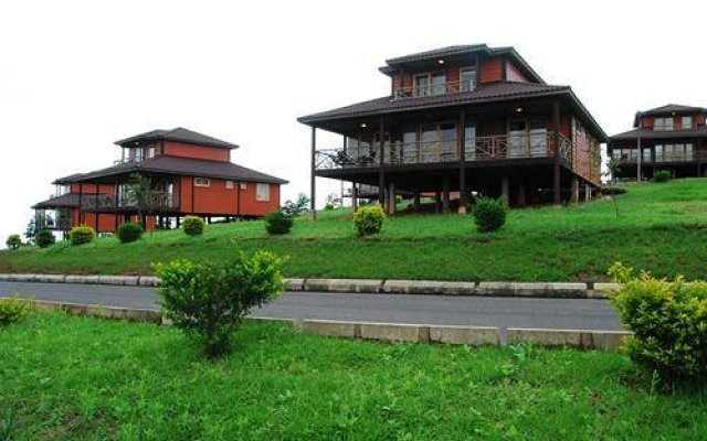 Отель Obudu Mountain Resort вид на фасад