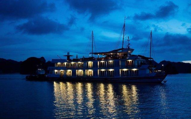 Отель Glory Legend Cruise Халонг вид на фасад