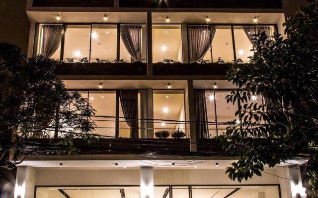 Ivy Hotel Da Lat Далат вид на фасад
