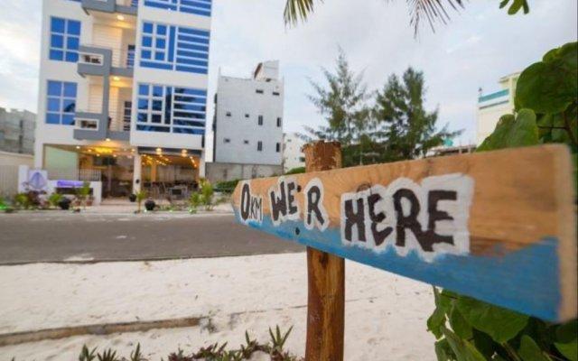 Отель Whiteharp Beach Inn Мальдивы, Мале - отзывы, цены и фото номеров - забронировать отель Whiteharp Beach Inn онлайн вид на фасад