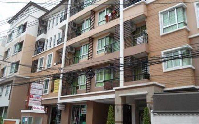 Отель The Nararam 3 Suite Бангкок вид на фасад