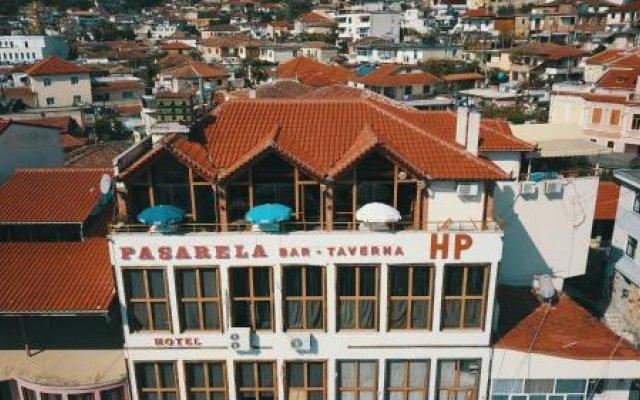 Hotel Pasarela Берат вид на фасад