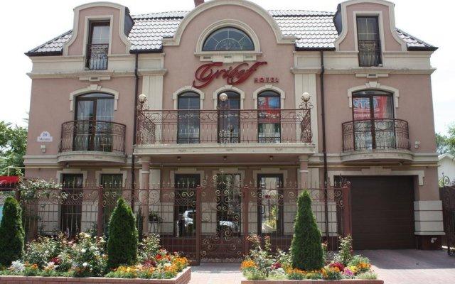 Griboff Hotel Бердянск вид на фасад
