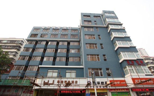 Yuejia Business Hotel Shenzhen Шэньчжэнь вид на фасад
